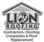 lion roofing contractors glenview logo